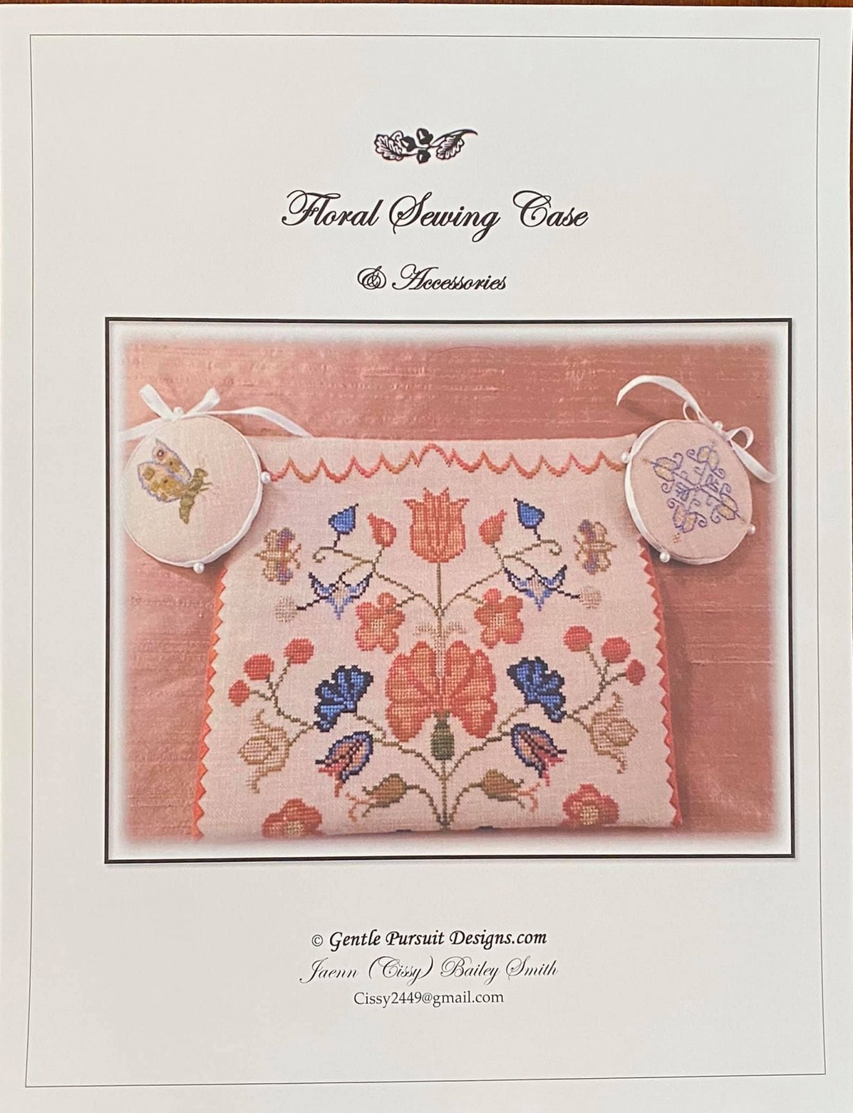 Gentle Pursuit Designs Floral Sewing Book