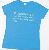Pro-cross-tin-ate t-shirt Sapphire Blue
