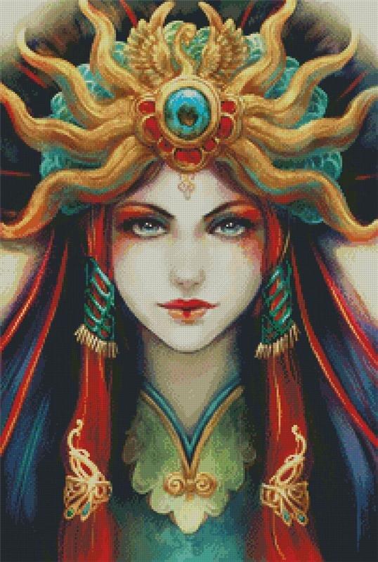 Artecy Cross Stitch Empress