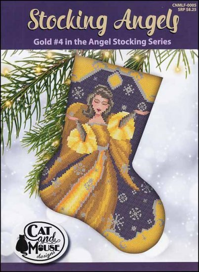 Cat and Mouse #4 Gold Stocking Angel