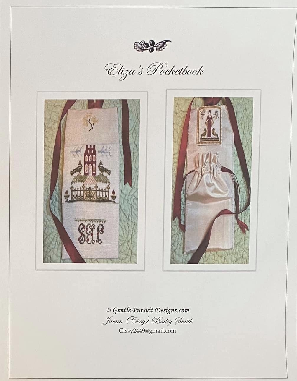 Gentle Pursuit Designs Eliza's Pocketbook