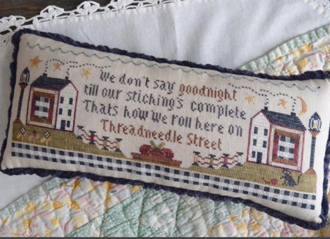 Annie Beez Folk Art Thread Needle Street