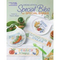 Leisure Arts Cross Stitch Special Bibs for Special Babies