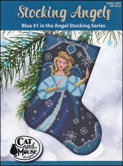 Cat and Mouse #1 Blue Stocking Angel