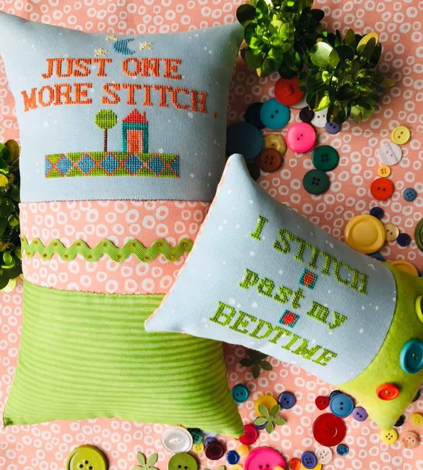 Amy Bruecken Just One More Stitch