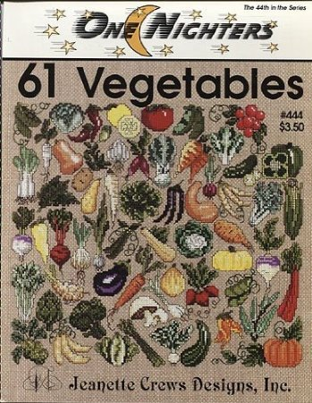 Jeanette Crews Designs One Nighters 61 Vegetables