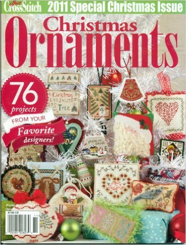 Just Cross Stitch 2011 Christmas Ornaments