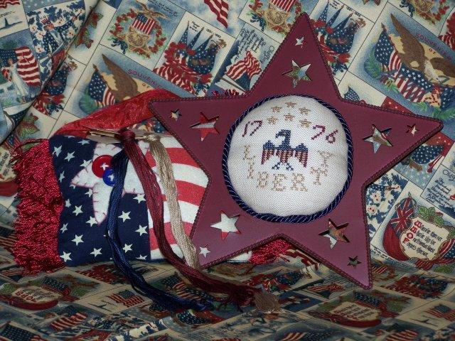 The Stitching Parlor Liberty Pincushion