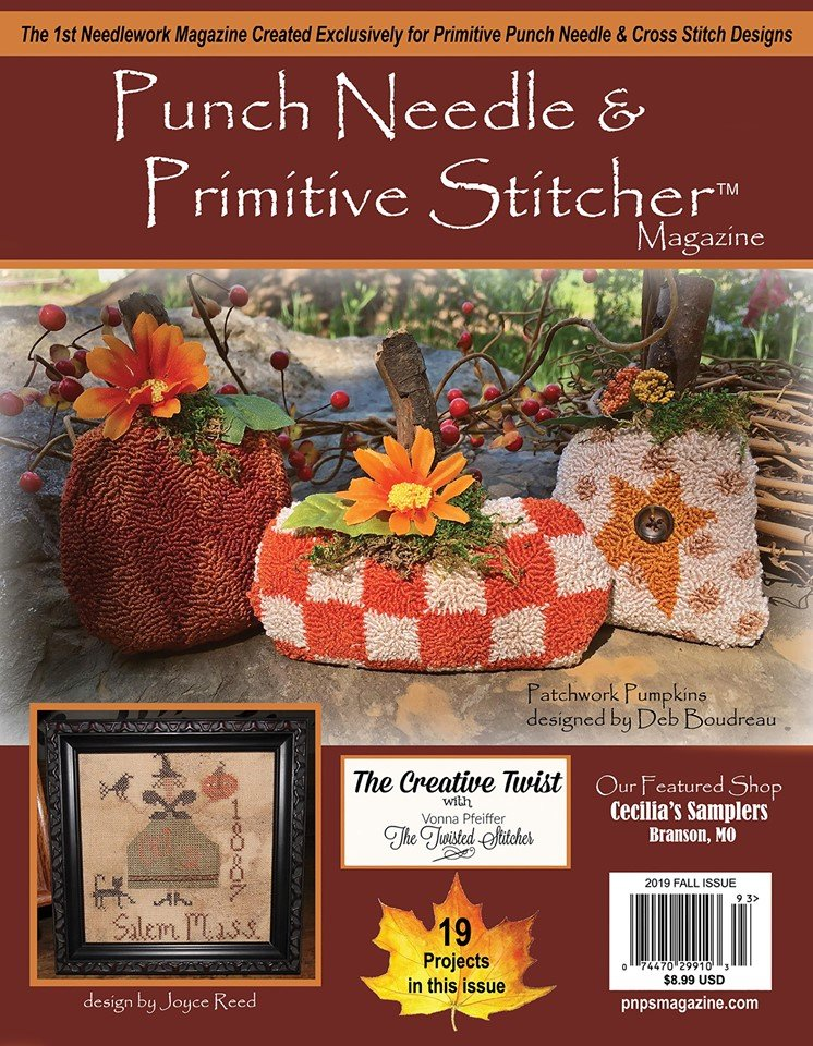 Punch Needle & Primitive Stitcher 2019 Fall Issue