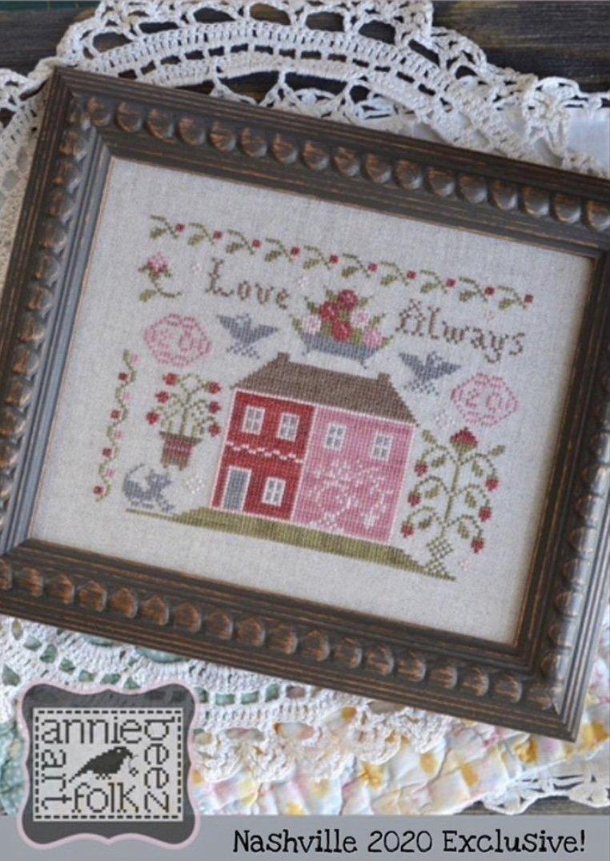 Annie Beez Folk Art Nashville *Exclusive* Love Always