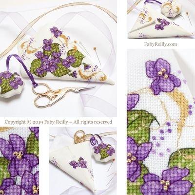 Faby Reilly Designs Violet Scissor Case