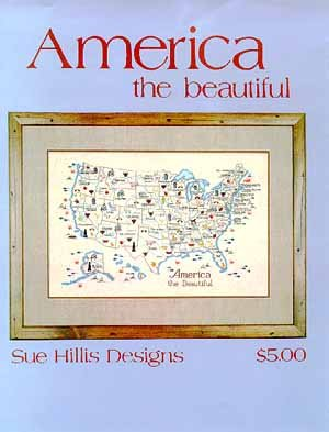 Sue Hillis Designs America the Beautiful