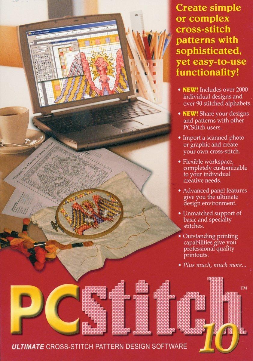 PCStitch 10 design software