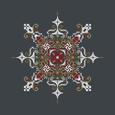 Shannon Christine Designs Christmas Snowflake