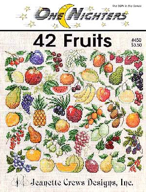 Jeanette Crews Designs 42 Fruits