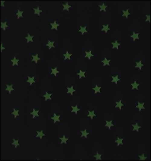 Fabric Flair Glow in the Dark Stars