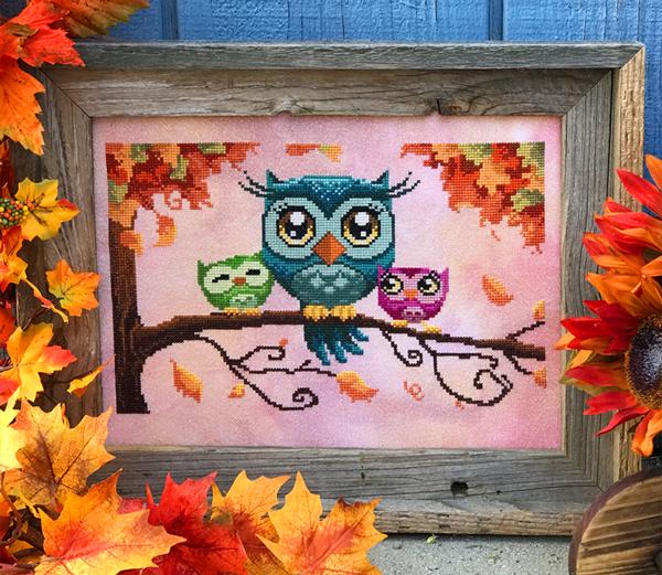 Autumn Lane Stitchery Love on a Limb