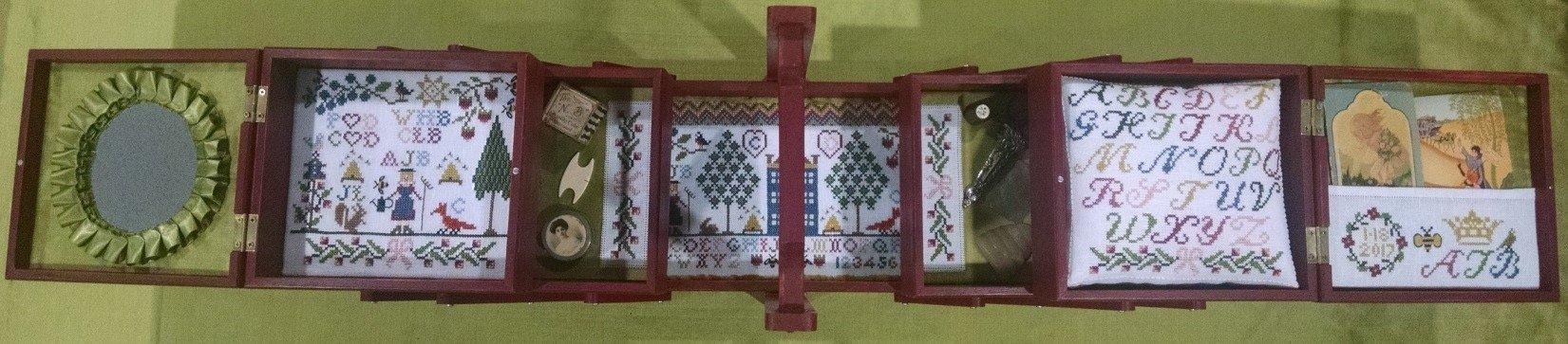 The Stitching Parlor Aurora's Sewing Box (Pattern)