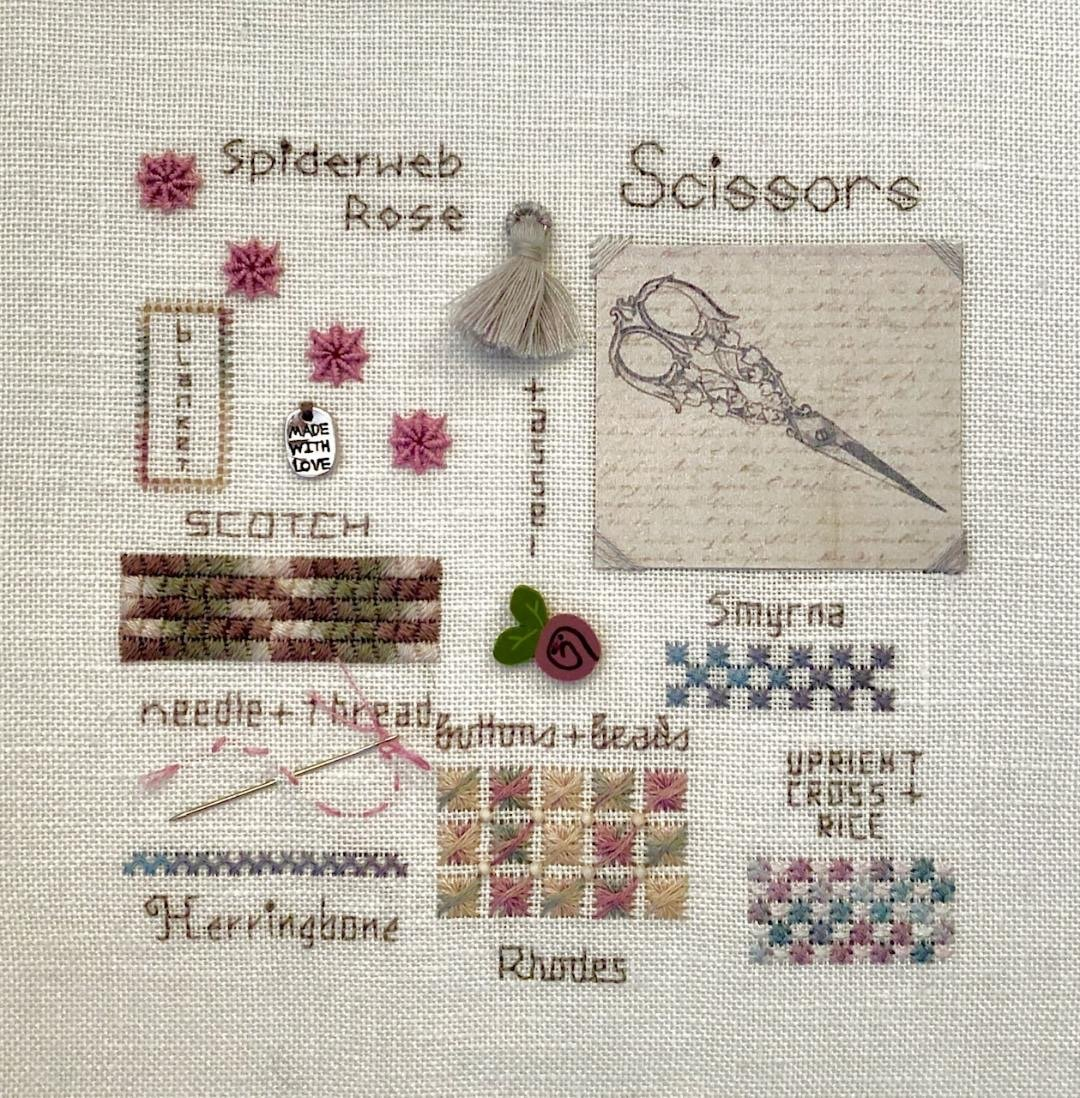 Fireside Originals A Collage of Stitches