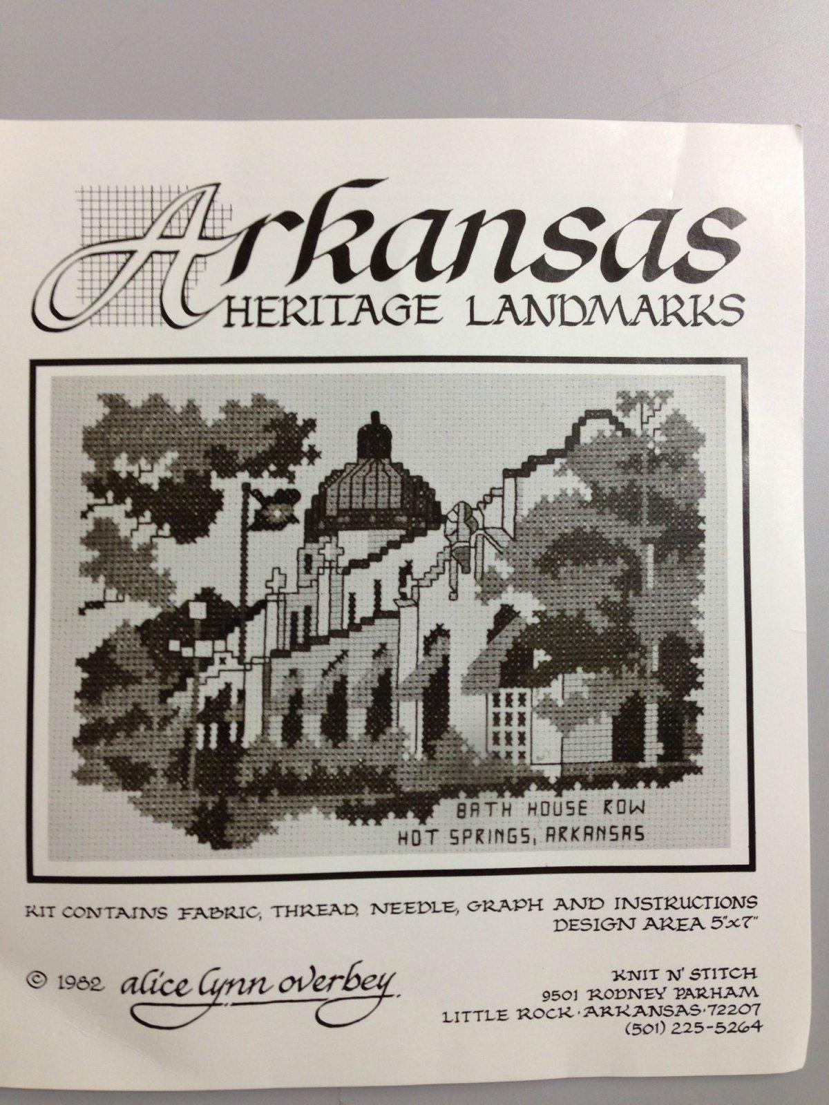 Alice Lynn Overbey Arkansas Heritage Landmarks Bath House Row Hot Springs, AR