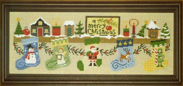 Bent Creek The Christmas Mantle - Santa and the Deer Kit 3 of 3