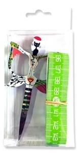 Bohin Cat 3.5 Green scissor gift set Limited Ed.