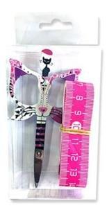 Bohin Cat 3.5  Pink scissor gift set Limited Ed.