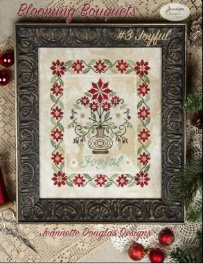 Jeannette Douglas Designs Blooming Bouquets #3 Joyful