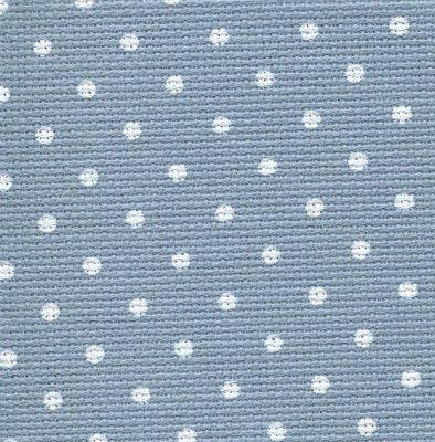 Wichelt/Zweigart Blue/White Dot 20ct Petit Point Aida