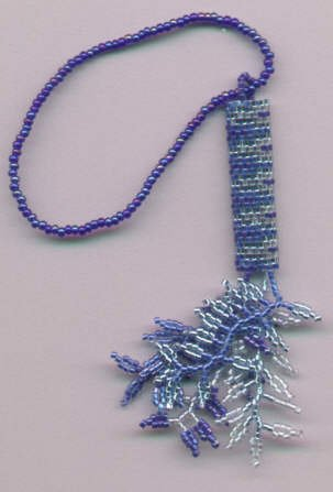 Brenda Franklin Designs Blue Bargello kit