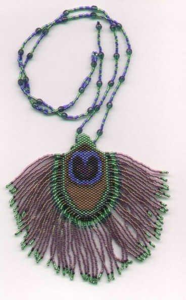 Brenda Franklin Designs Bronze Peacock Feather