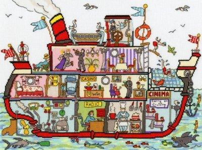 Bothy Threads Cut Thru Cruise Ship kit