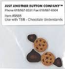 The Stitching Bear JABCO 9585 TSB - Chocolate Understands