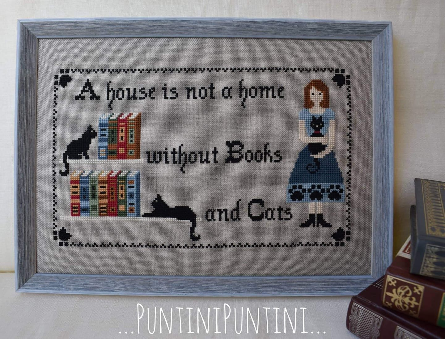 PuntiniPuntini Books and Cats