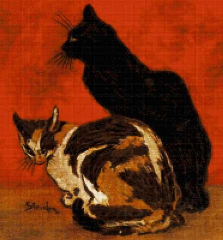 Scarlet Quince Cats