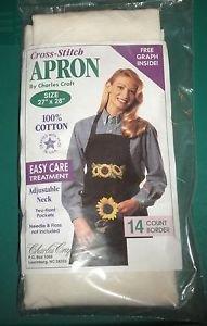 Cross-Stitch Apron