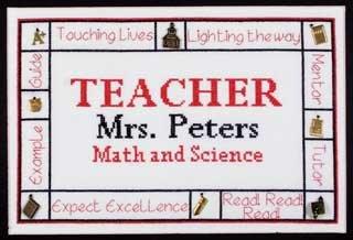 DebBee's Designs Charmed Teacher Sampler