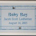 DebBee's Designs Charmed Baby Boy Sampler