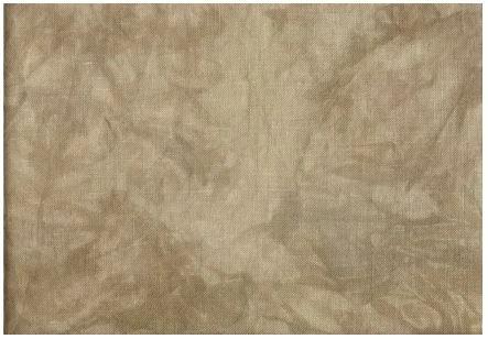 Hand Dyed Fabrics by Stephanie Chocolate Milk Aida 18ct fat 1/4