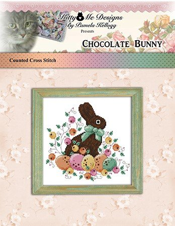 Kitty and Me Designs Chocolate Bunny