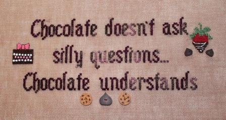 The Stitching Bear Chocolate Understands