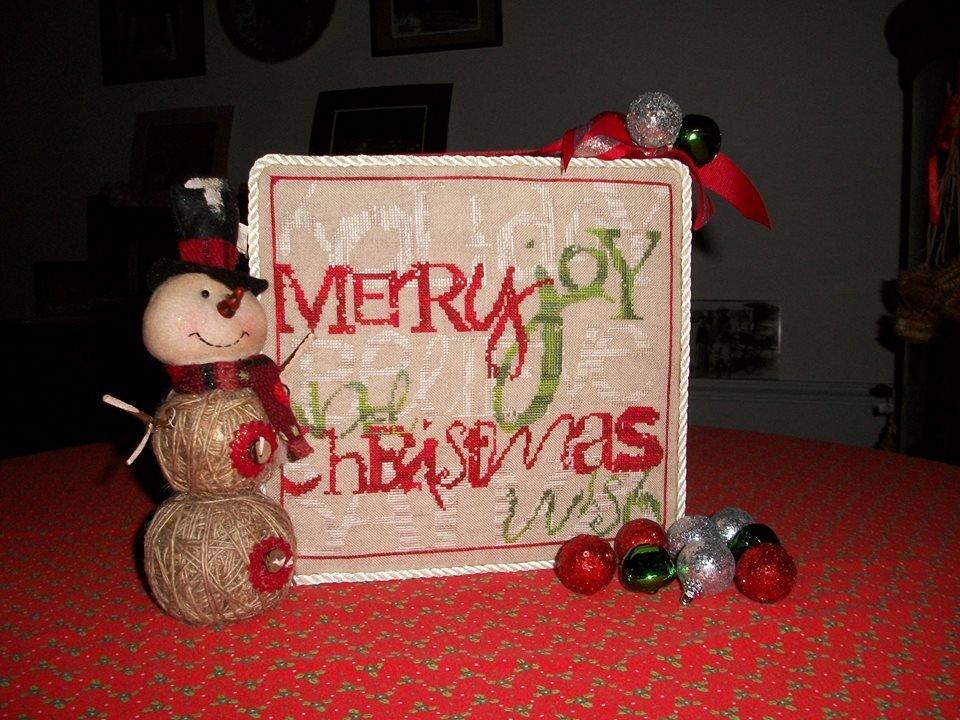 White Lyon Needleart Christmas Jumble