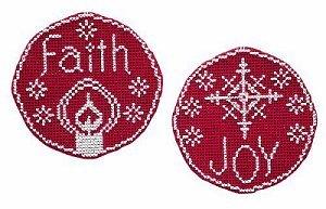Handblessings Circle Ornaments Faith And Joy