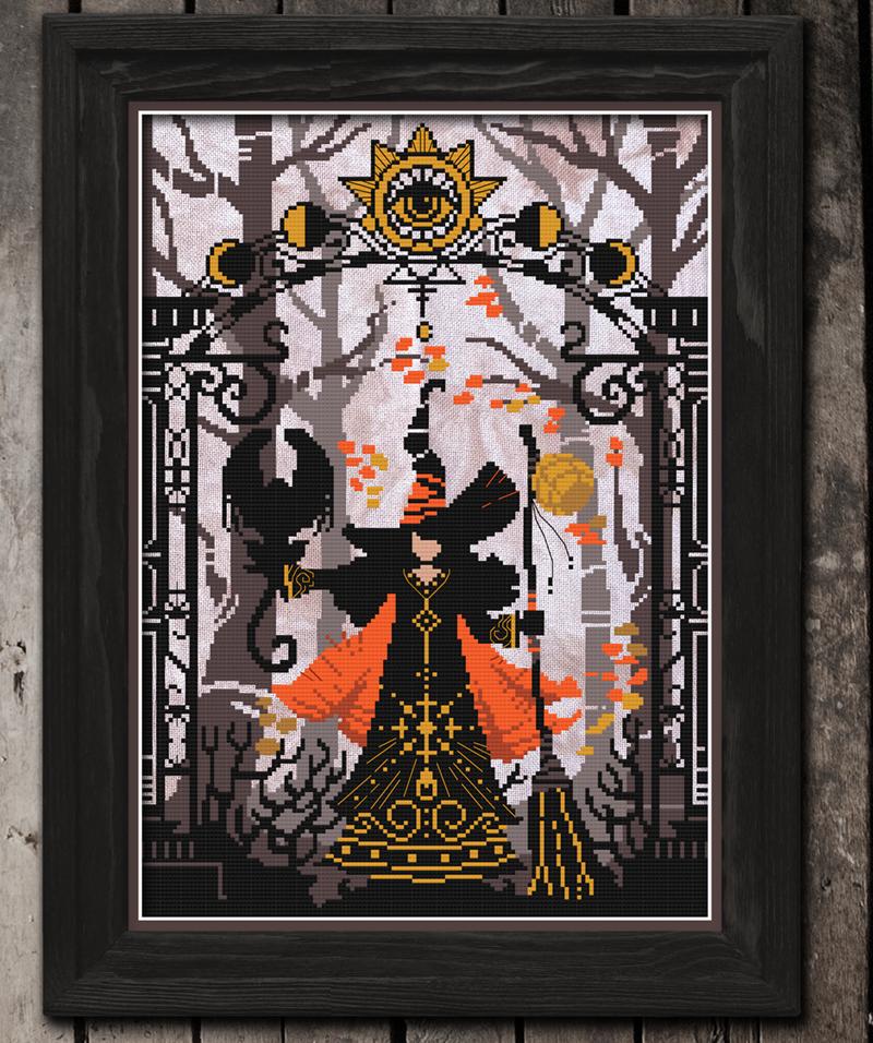 Autumn Lane Stitchery The Lunar Witch