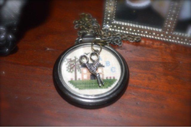 LaDonna Snellbaker Colonial Sampler Necklace