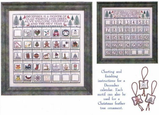 Blue Ribbon Designs Countdown To Christmas A December Calendar