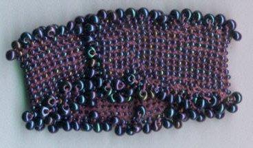 Brenda Franklin Designs Cuff Bracelet kit purples