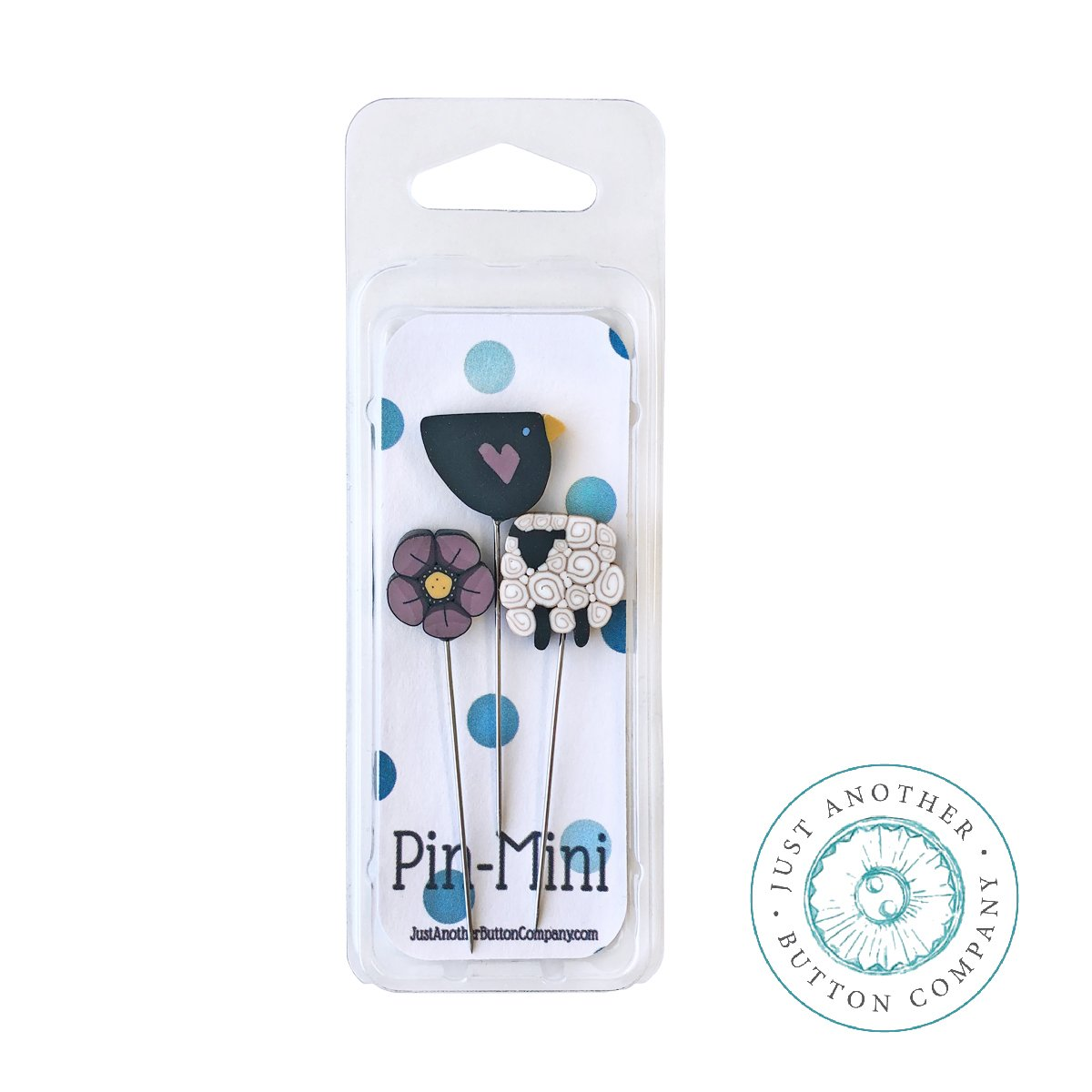 JABCO Pin Mini jpm429 - Bless the Fields for Shepherd's Bush Little Blessings Pincushion