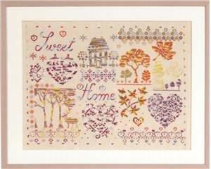 DMC Coloris Pattern Book Sweet Home