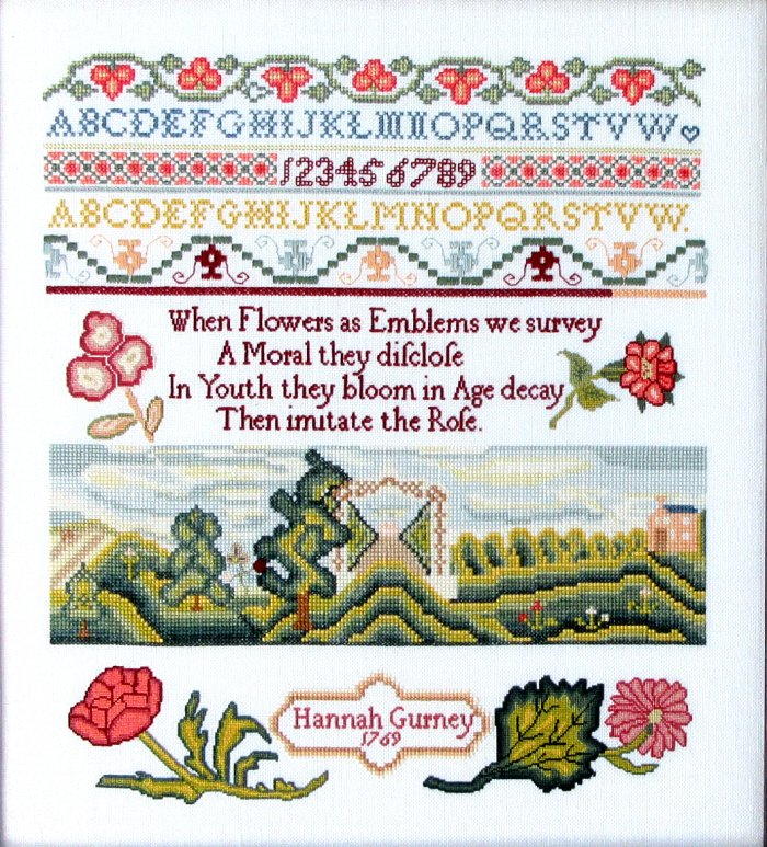 Queenstown Sampler Designs Hannah Gurney 1769
